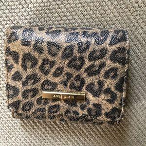 Anne Klein Mini Leopard Wallet